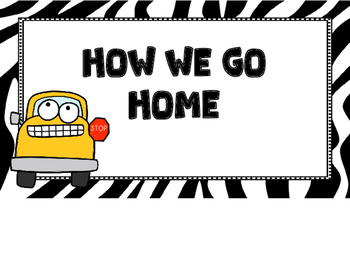 How We Go Home -Zebra Print