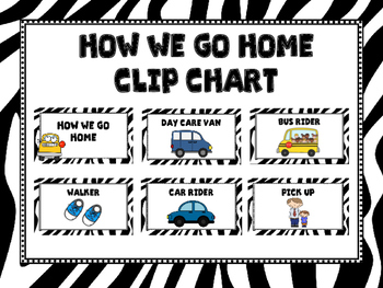 How We Go Home -Zebra Print