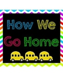 How We Go Home multi-colored chart