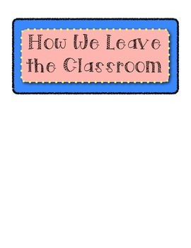 How We Leave the Classroom