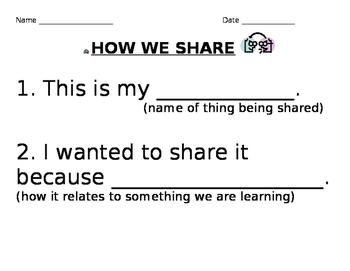 How We Share