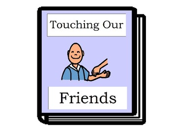 How We Treat Our Friends - Social Story Book