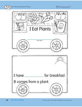 How We Use Plants: Art and Cooking Activities