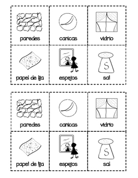 How We Use Rocks--Interactive Book--English and Spanish Bundle