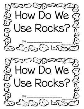 How We Use Rocks--Interactive Book--English and Spanish Bundle