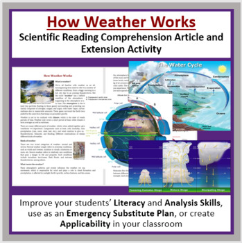 How Weather Works - Reading Article - Grade 8 and Up