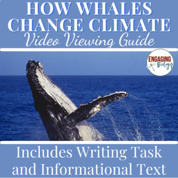 How Whales Change Climate Video Viewing Guide