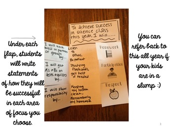 How Will You Achieve Success Foldable {PDF, PPT, & Pages for easy editing!)