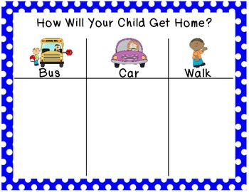 How Will Your Child Get Home?