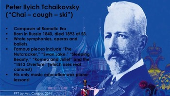 How Would You Like to Have a Middle Name Like Ilyich? Lyrics and Info PowerPoint