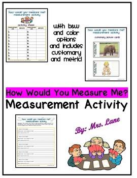 How Would You Measure Me? Measurement Activity