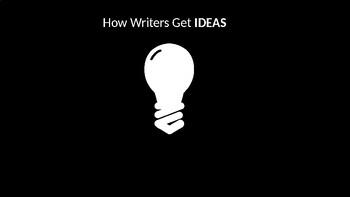 How Writer's Get Ideas Light Bulb Slide