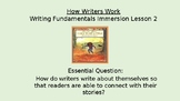 How Writers Work - Immersion Lesson 2 (Writing Fundamentals Compatible Lesson)