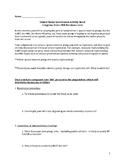 How a Bill Becomes a Law – Classroom Activity & Vocab List