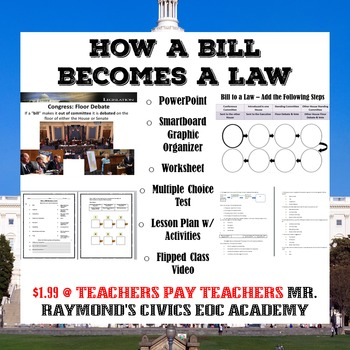 How a bill becomes law teaching resources teachers pay teachers how a bill becomes a law congress ii ccuart Images