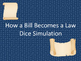 How a Bill Becomes a Law Dice Simulation