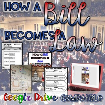 How a Bill Becomes a Law {Google Drive}