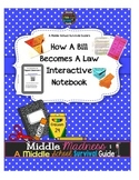 How a Bill Becomes a Law Interactive Notebook