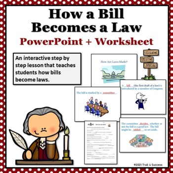 How a bill becomes a law interactive powerpoint printable worksheet ccuart Images