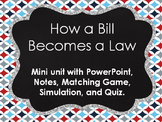 How a Bill Becomes a Law Mini Unit
