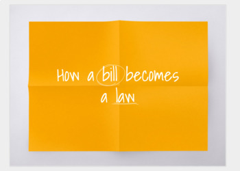 How a Bill Becomes a Law Student Guide; Presentation and Packet