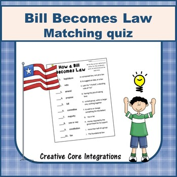 How a Bill Becomes a Law Vocabulary Matching