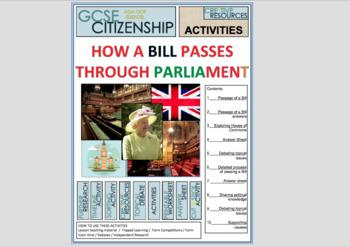 How a Bill Passes through UK Parliament