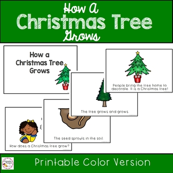 How a Christmas Tree Grows Emergent Reader