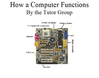 How a Computer Functions Student Manual