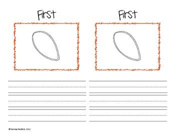 How a Pumpkin Grows: First, Next, Then, After, Finally