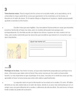 How am I a good student? Present perfect with reading / Realidades 2 6b