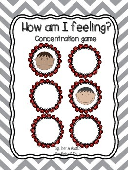 How am I feeling? concentration game