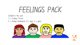 How Am I Feeling - Poster and Worksheet Pack