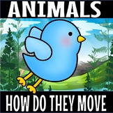 How animals move and are