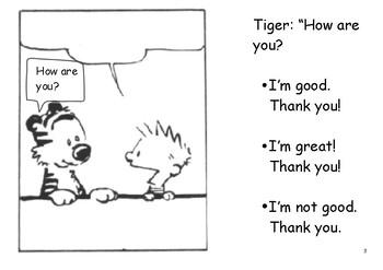 How are you? Comprehension Worksheet Set