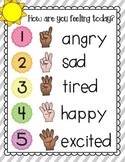 How are you Feeling? Morning Meeting Anchor Chart
