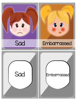 How are you feeling? Behavior Task Cards and Activities