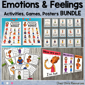 How are you feeling ? - Posters & activities + I have who has game