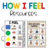"Visual Communication ""How are you feeling"", for students with Autism"