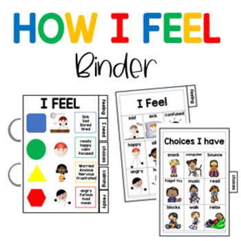 """Visual Communication """"How are you feeling"""", for students with Autism"""
