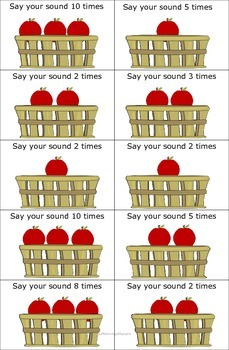 How 'bout them apples? A game to stimulate high practice reps for Apraxia