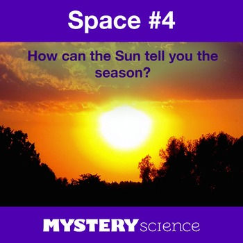 Space NGSS:Seasonal Changes & Sun's Path ❤ BUNDLE:Activity