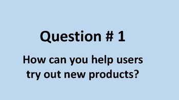 How can we improve the user experience?