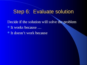 How can you be a problem solver?