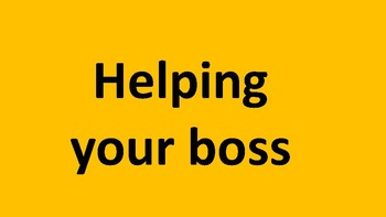 How can you lead when your boss does not?