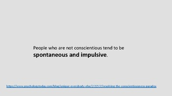 How conscientious are you?