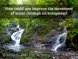 How could you improve the movement of water through an ecosystem?