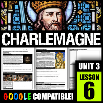 How did Charlemagne's rule affect the spread of Christianity in Western Europe?