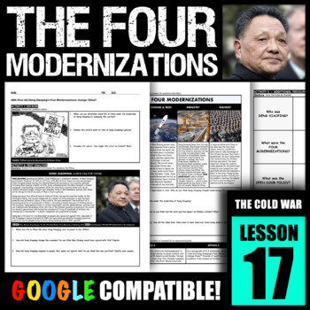 How Did Deng Xiaoping S Four Modernizations Change China By History Activated