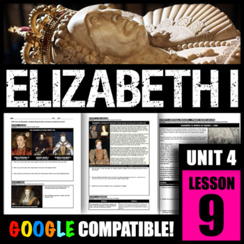 How did Elizabeth I stabilize England after centuries of political turmoil?